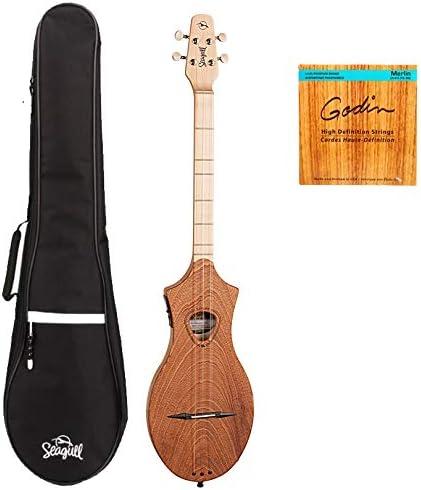 Gaviota 042517 M4 Merlin caoba EQ Guitarra Electroacústica ...