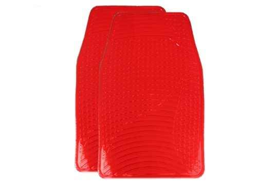 a-set-of-4-universal-fit-plastic-floor-mats-with-metallic-finish-chrome-red