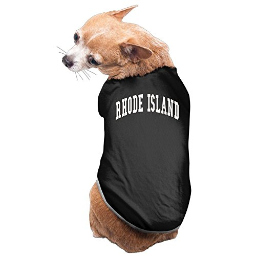 RHODE ISLAND New Fashion Cute Dog Pet Vest Puppy Printed Cotton T Shirt S - Stores Fashion Island