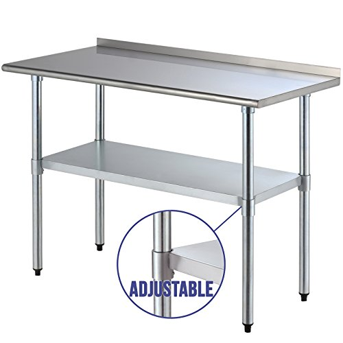 Ipyarmid 24 Quot X 48 Quot Stainless Steel Work Prep Table With