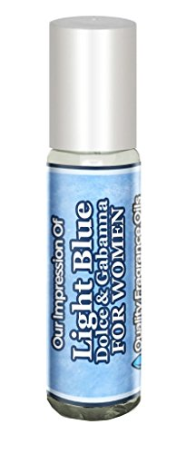 D&G Light Blue Impression (women) by Quality Fragrance Oils (10ml Roll On) for Men for Women - Generic version of Dolce & Gabanna