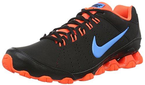 Nike 807184-006 Herren Turnschuhe Schwarz (Schwarz/Orange/Hellblau)
