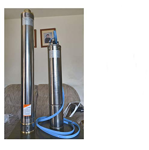 Galapagoz Submersible Water Pump DEEP Well Pump 2-Wire 13.39GPMT@430 F 4