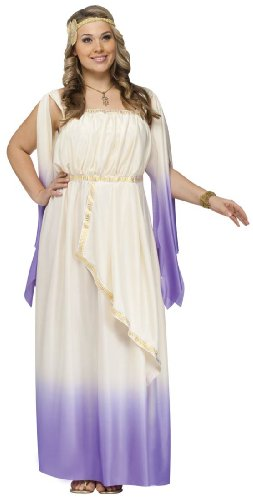 Goddess Costume Plus Dress 16 20