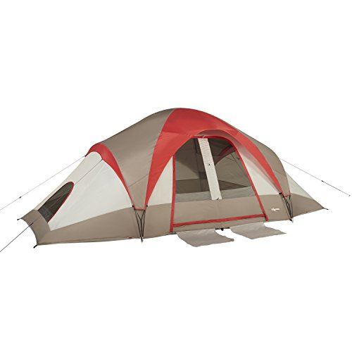 Mountain Trails Grand Pass 10 Person Tent, Red