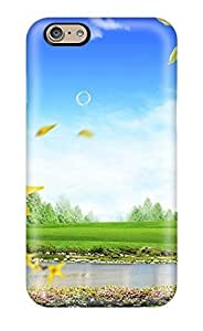 UniqueBox Customized Disney Series Phone Case for iPhone 5C, Lovely Cartoon Waste Allocation Load Lifters-Earth iPhone 5c Case, Only Fit for Apple iPhone 5C (White Hard Shell)