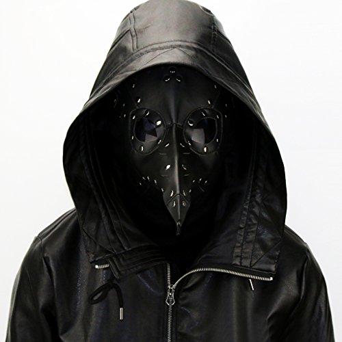 Sharplace Máscara Pico Médico de Peste Negra Doctor Schnabel Halloween Disfraz - Negro: Amazon.es: Juguetes y juegos