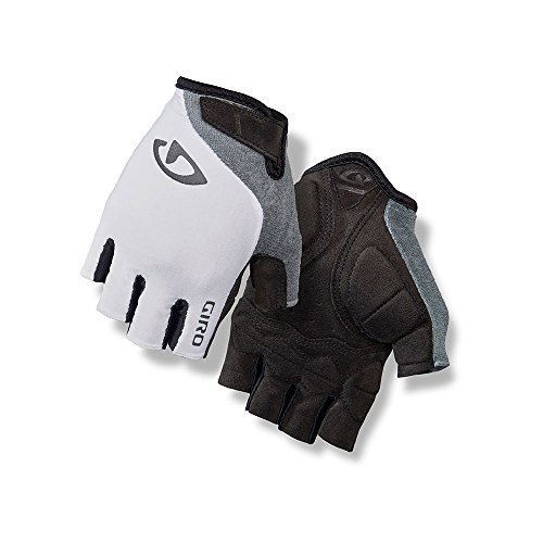Giro Jag'Ette Womens Cycling Gloves White/Titanium Large