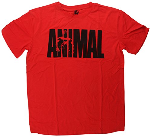 UNIVERSAL NUTRITION Animal Iconic T-Shirt Red