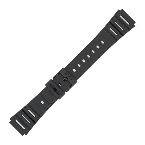 Casio 71604130 Genuine Factory Replacement Resin Band fits CA-53W-1 CA-61W-1 FT-100W-1 W-520U-1 W-720-1 W-720G-9 Casio Watch Parts