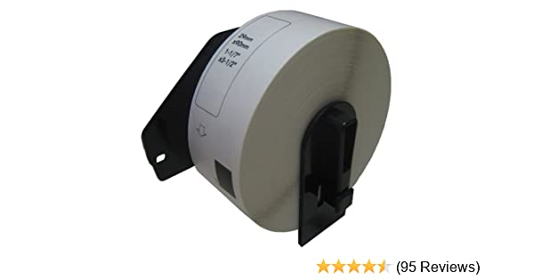 PAR 70 DK-1201 20 Pack Compatible with Brother DK-1201 1-1//7 x 3-1//2 White Labels.