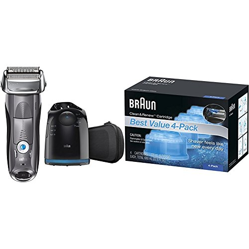 Braun Series 7 7865cc Wet & Dry Electric Shaver for...