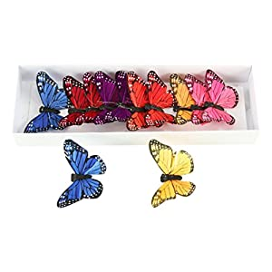 Shinoda Design Center 0 12 Piece Butterfly Decor 21