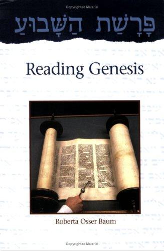 Parashat Hashavua: Reading Genesis PDF