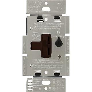 Lutron Ariadni/Toggler LED+ Dimmer   150-Watt, Single-Pole/3-Way   AYCL-153P-BR   Brown