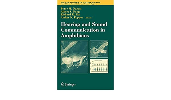 Comparative Hearing: Fish and Amphibians (Springer Handbook of Auditory Research)
