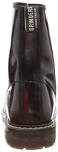 Rosso Rosso Stivaletti Burgundy Grinders Uomo Cedric n6Fxa8w6qR