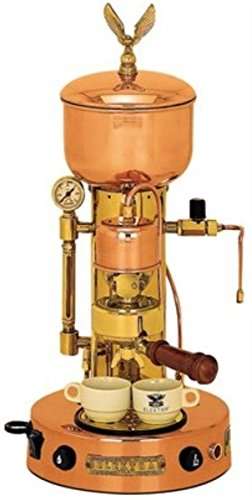 Microcasa Semiautomatica Commercial Espresso Machine Finish: Copper and Brass