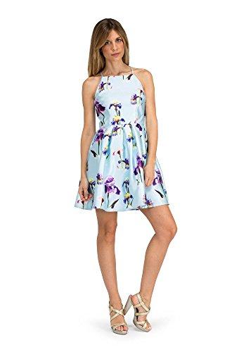 Damen Blau barbarella Azul Paulette 3 Partykleid x1Fw4qY4f