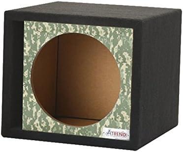 Atrend GFX Series 15SVR-Bankroll $100 Bills Pattern Single Vented 15 Subwoofer Enclosure