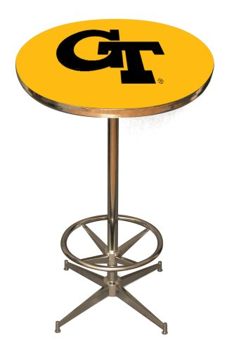 Georgia Pub Table - Imperial Officially Licensed NCAA Pub Table, Georgia Tech Yellow Jackets