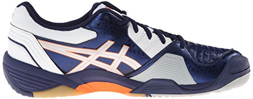 Asics Menns Gel-domene 3 Volleyball Sko Marine / Lyn / Hvit
