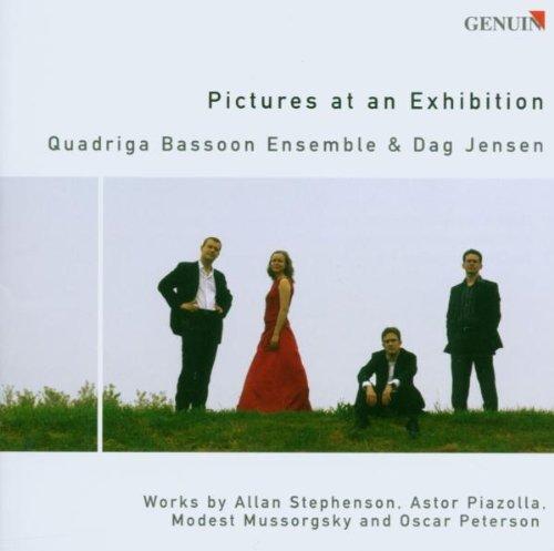 Pictures at an Exhibition(arr.for Basson Ensemble) by Quadriga Bassoon Ensemble (2006-01-01)