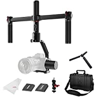 MOZA Air 3-axis Gimbal Stabilizer with Dual Handle for DSLR and Mirrorless Camera up to 7.1Lb, Auto-tuning 360 Degree Unlimited Rotation, i.e. Canon EOS, Sony A7, Panasonic GH5
