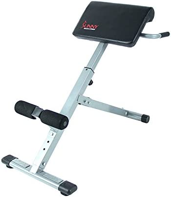 Sunny Health Fitness SF-BH6629 45 Degree Hyperextension Roman Chair