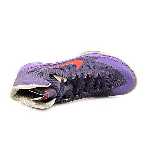 Nike Zoom Hyperquickness Mens Storlek 11 Lila Basketskor
