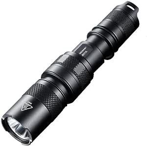 Nitecore MH1A 550-Lumen CREE XM-L U2 LED Rechargeable Flashlight, Black