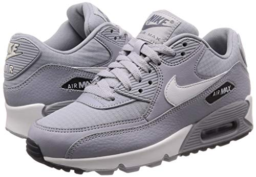 Nike Women's Air Max 90 Wolf GreySummit White 325213 062