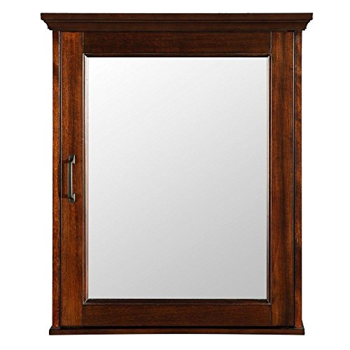 Pegasus ASGC2328 Ashburn 23 in. x 28 in. Surface-Mount Medicine Cabinet in Mahogany