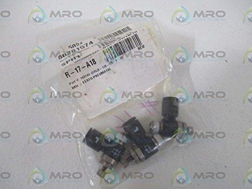 Festo Grla-1//8-Qs-8-D Exhaust Air Flow Control Valve Grla-1//8-Qs-8-D