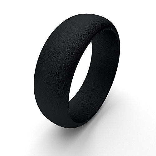Mens Silicone Wedding Bands Lightweight