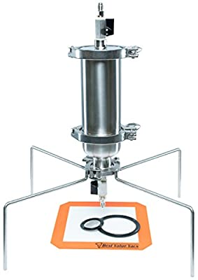 Best Value Vacs Brand- SS304 Sanitary Fitting Tri-Clamp180G Short Closed Column Extractor