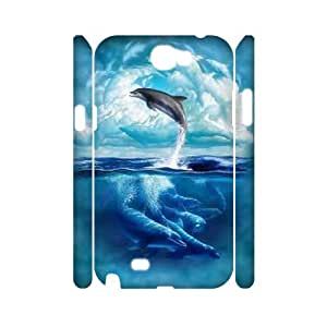 PCSTORE Phone Case Of Dolphin For Samsung Galaxy Note 2 N7100