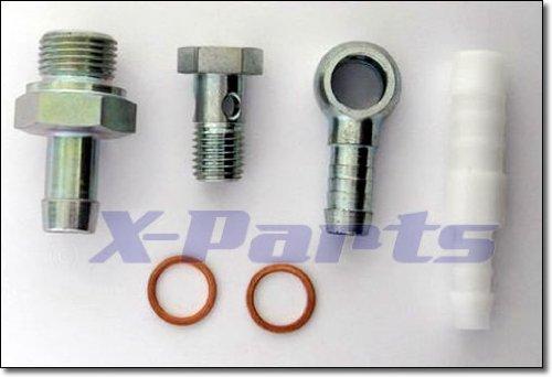 Anschluss Set fü r Benzinpumpe Bosch 040 + 044 Ring Nippel Hohlschraube Adapter X-Parts GmbH Dropship