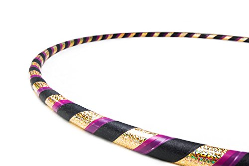 Weighted Fitness Hula Hoop. Great for Exercise, Dancing, Staying in Shape and Having Fun! (All That Glitters, Fitness hoop 40