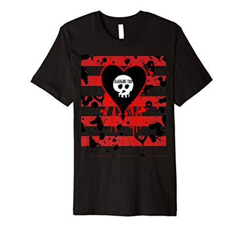 Alkaline Trio - Bloody Stripes - Official Merchandise Premium T-Shirt