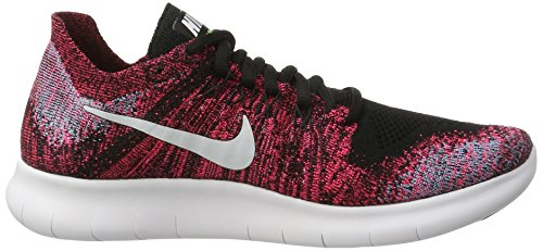 NIKE Women's Free RN Flyknit 2017 Running Shoe Black/White-racer Pink-gamma Blue buy cheap low cost j0hcsE