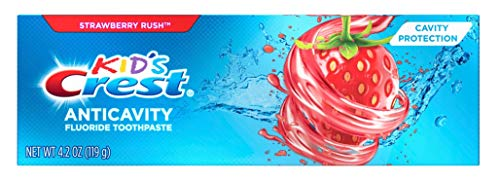 (Crest Toothpaste 4.2 Ounce Kids Strawberry Rush (6 Pack))