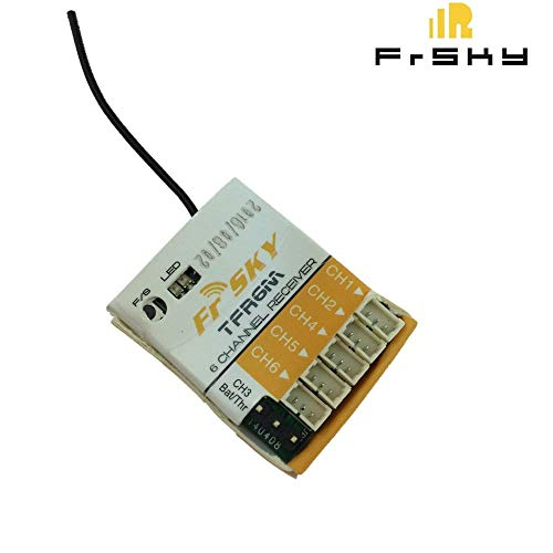 Kamas FrSky TFR6M 2.4Ghz 6Channel Micro Receiver Futaba FASST Compatible
