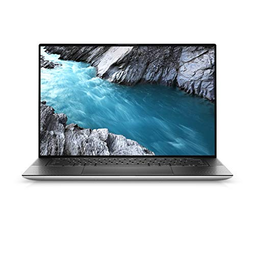 """Dell XPS 15 9500 Laptop 15.6"""" UHD+ (3840 x 2400) InfinityEdge Touch Display Intel Core i7-10750H 5.0 GHz,32GB Ram,1TB SSD,4GB GTX 1650 Graphis,Finger Print,Eng-Arabic KB,Windows 10 Home,Silver"""