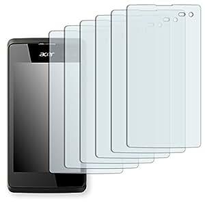 6x Golebo Semi-Matt protectores de pantalla para Acer Liquid M220 - (efecto antirreflectante, montaje muy fácil, removible sin residuos)