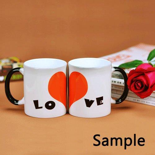 Custom Platform 9 3 4 Harry Potter Hogwarts Express Math Ceramic Magic Color Changing Morning Coffee Tea Drinking Mug Funny Mugs-Heat Sensitive (11 oz)