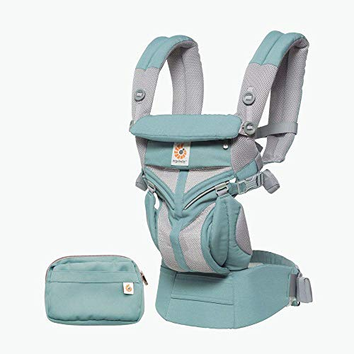 Sale!! Ergobaby Omni 360 Cool Air Mesh All-in-One Ergonomic Baby Carrier, All Carry Positions, Newborn to Toddler, ICY Mint
