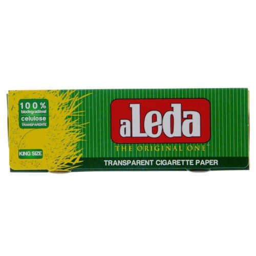 Aleda Rolling Papers Transparent King Size 40 Leaves Unflavored Pack Of 40 by Generic