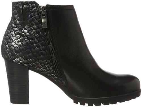Black para Botas 25400 Mujer Caprice Multi Negro Hqp4aWw
