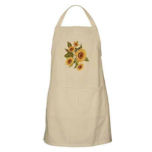 Sunflower Apron - CafePress Sunflower BBQ Apron Kitchen Apron with Pockets, Grilling Apron, Baking Apron